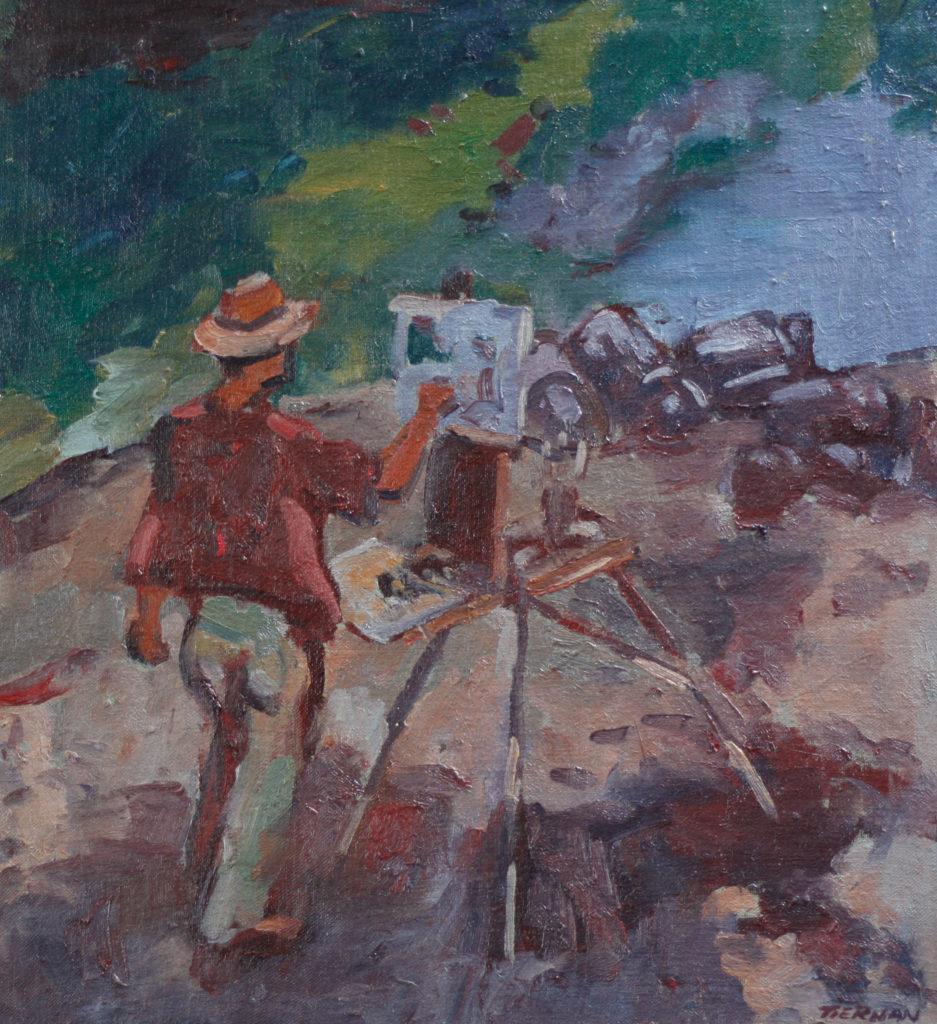 John Dinan Painting Roundstone